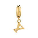 Online Exclusive - Diamond Set & 10kt Yellow Gold 'Y' Charm