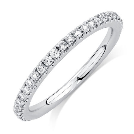 Sir Michael Hill Designer GrandAllegro Wedding Band with 0.33 Carat TW of Diamonds in 14kt White Gold