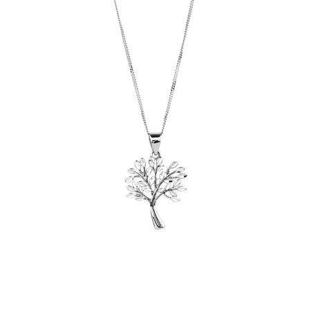 Tree of Life Pendant in Sterling Silver