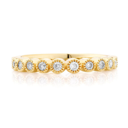 1/4 Carat TW Diamond Stacker Ring
