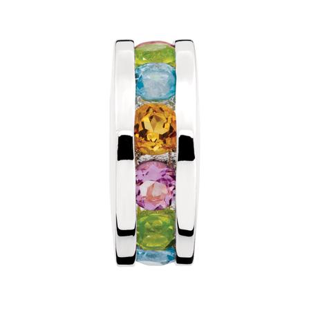 Multi-Colored Cubic Zirconia Charm