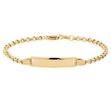 Baby Identity Bracelet in 10kt Yellow Gold