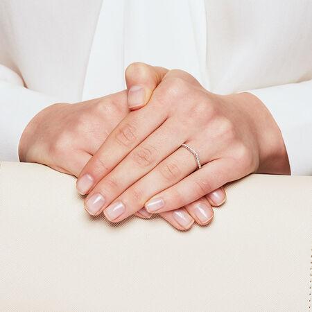 Sir Michael Hill Designer GrandAdagio Wedding Band with 1/5 Carat TW of Diamonds in 14kt White Gold