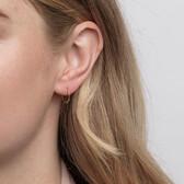 12mm Sleeper Earrings in 10kt Yellow Gold
