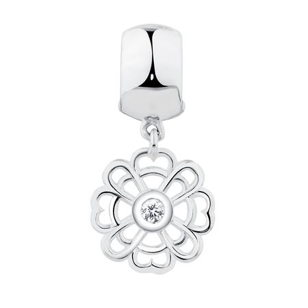 Sterling Silver Flower Stopper