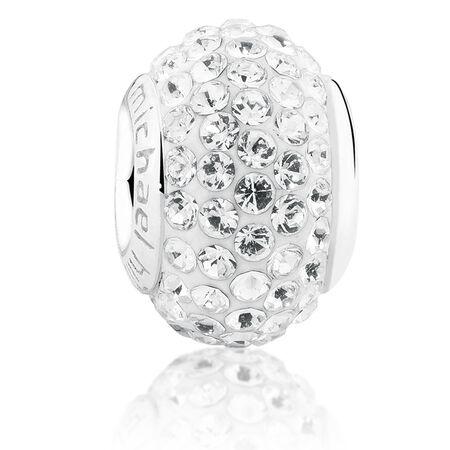 White Crystal Charm