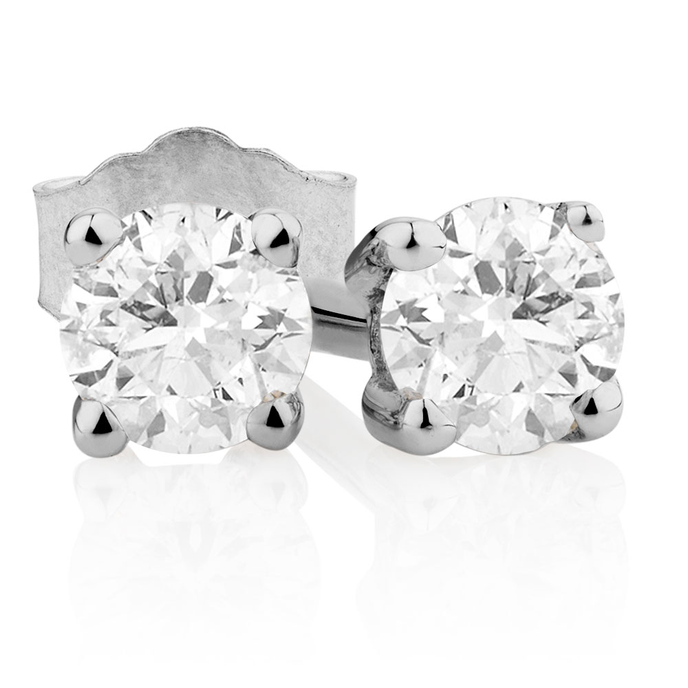 princess earrings buymogul at mogul solitaire main stud diamond gold cut online johnlewis rsp pdp white